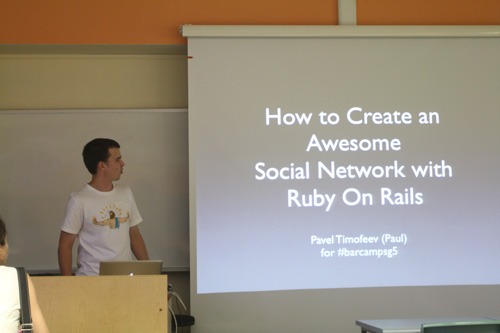 Social Network with Ruby On Rails