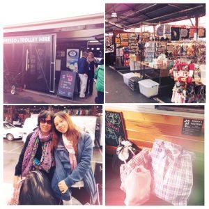 和妈妈一起逛维多利亚女王市场以及战利品