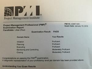 PMP Result