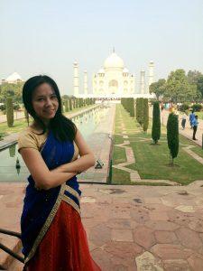 2015年于Taj Mahal 泰姬陵