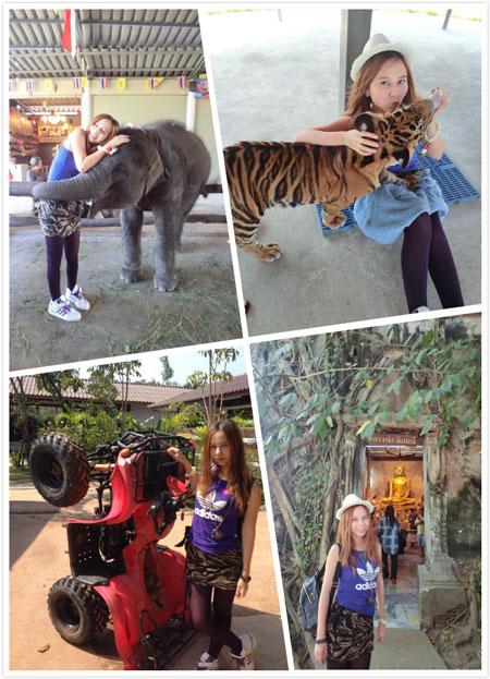 2013年小白姐曼谷游