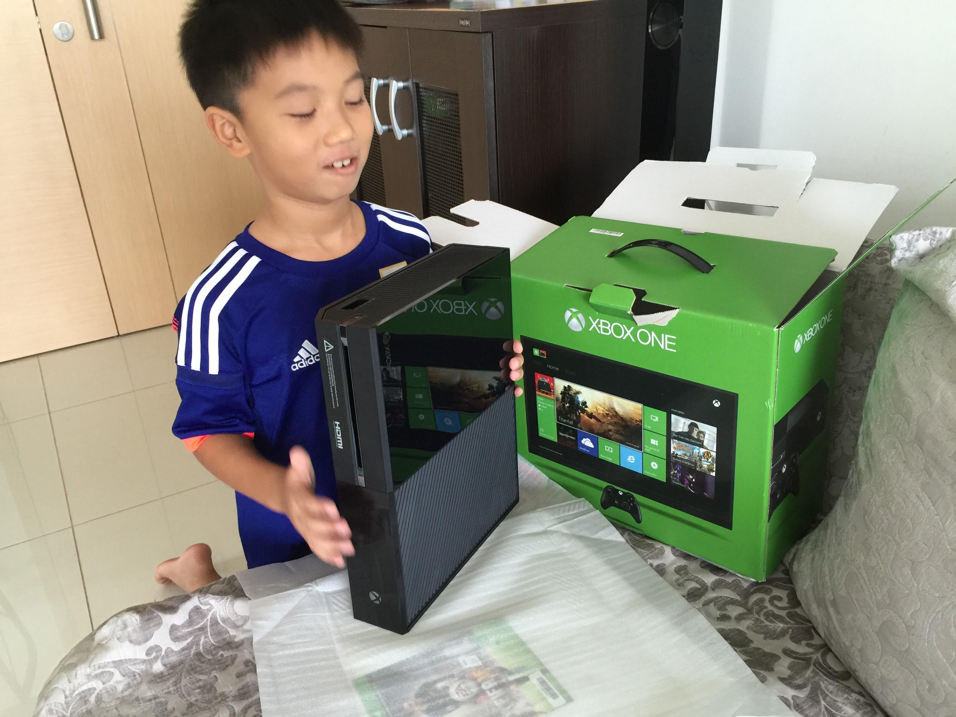 Edison和他的GEP奖励——Xbox ONE!