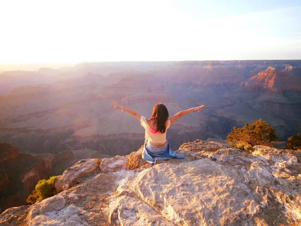 grand canyon 美国大峡谷的美